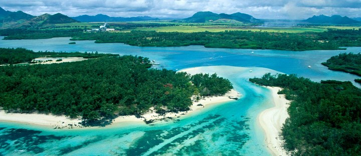 Photo l'île aux Cerfs